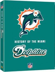 Miami Dolphins Team History NFL Football 2-DVD-Set