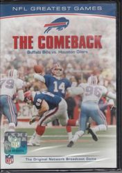 NFL Greatest Games The Comeback 1992 Bills vs. Oilers Football DVD