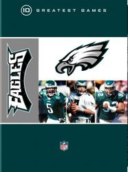 NFL Greatest Games Series Philadelphia Eagles Football 10 DVD Set