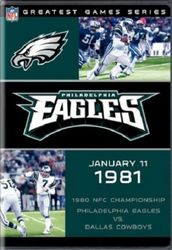 NFL Greatest Games 1981 NFC Philadelphia Eagles Dallas Cowboys Football DVD