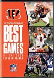 Cincinati Bengals Best Games of 2009 Season NFL Football 3 DVD Set
