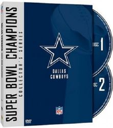 Dallas Cowboys Super Bowl Champions Collection NFL Football 2 DVD Set