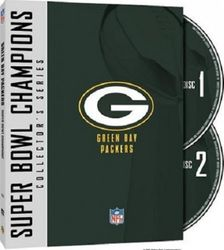 Green Bay Packers Super Bowl Champions Collection NFL Football 2 DVD Set