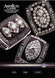 America's Game Oakland Raiders Super Bowl NFL Football 3 DVD Set