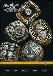 America's Game Pittsburgh Steelers Super Bowl NFL Football 5 DVD Set