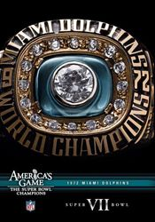 Miami Dolphins 1972 Super Bowl VII 7 NFL Football America's Game DVD