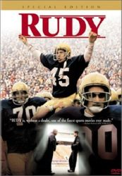 RUDY College Football Film Notre Dame DVD