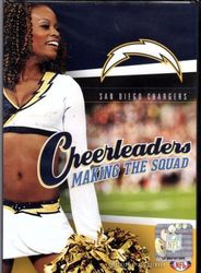 San Diego Chargers Cheerleaders Making The Squad NFL Football DVD
