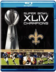 New Orleans Saints Super Bowl XLIV 44  American Football codefree Blu-ray