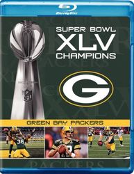 Green Bay Packers Super Bowl XLV 45 NFL Football codefree Blu-ray