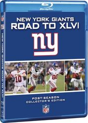 New York Giants Road to Super Bowl XLVI 46 NFL Football 2 Blu-ray Discs