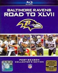 Baltimore Ravens Road to Super Bowl XLVII 47 NFL Football 2 Blu-ray Discs