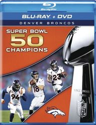 Denver Broncos Super Bowl L 50  NFL Football Blu-ray + DVD