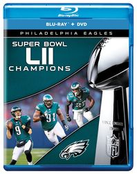 Philadelphia Eagles Super Bowl LII 52 NFL Football Blu-ray + DVD
