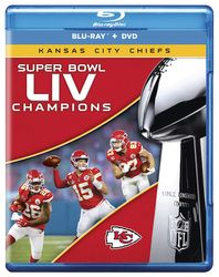 Kansas City Chiefs Super Bowl LIV 54 NFL Football Blu-ray + DVD