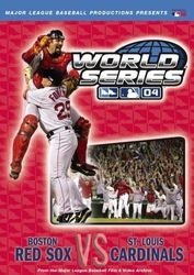 MLB Baseball World Series 2004 Boston Red Sox St Louis Cardinals DVD