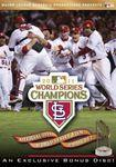 MLB Baseball World Series 2011 St Louis Cardinals Texas Rangers 2 DVD Set