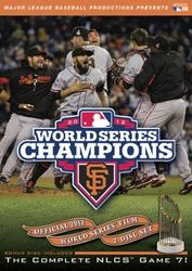 MLB Baseball World Series 2012 St Francisco Giants Detroit Tigers 2-DVD-Set