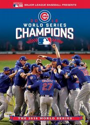 MLB Baseball 2016 World Series Chicago Cubs Cleveland Indians DVD