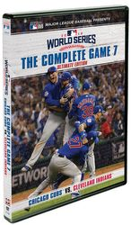 MLB Baseball 2016 World Series Game 7 Chicago Cubs Cleveland Indians 2-DVD-Set