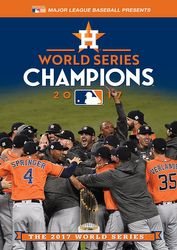 MLB Baseball 2017 World Series Houston Astros Los Angeles Dodgers DVD