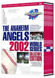 MLB Baseball 2002 World Series Anaheim Angels Collector's Edition 7-DVD-Set
