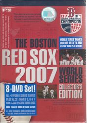 MLB Baseball 2007 World Series Boston Red Sox Collector's Edition 8-DVD-Set
