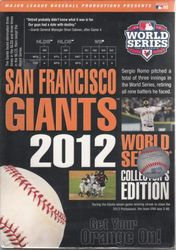 MLB Baseball 2012 World Series San Francisco Giants Collector's Edition 8-DVD-Set