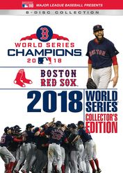 MLB Baseball 2018 World Series Boston Red Sox Collector's Edition 8-DVD-Set