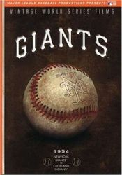 Vintage World Series New York Giants Major League Baseball DVD