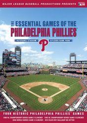 ML Baseball Essential Games Of The Philadelphia Phillies 4-DVD-Set