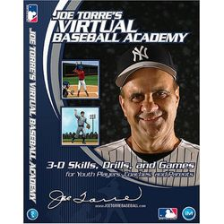 Joe Torre's Virtual Baseball Academy instructional DVD