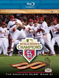 2011 Baseball World Series St. Louis Cardinals codefree Blu-ray Disc