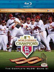 2011 Baseball World Series St. Louis Cardinals codefree Blu-ray Disc