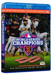 2012 Baseball World Series San Francisco Giants codefree Blu-ray Disc