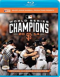 2014 Baseball World Series San Francisco Giants codefree Blu-ray Disc
