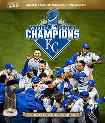 2015 Baseball World Series Kansas City Royals codefree Blu-ray Disc