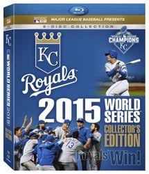 MLB Baseball 2015 World Series - Collector's Edition (8 Blu-rays) Kansas City Royals