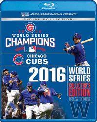 MLB Baseball 2016 World Series - Collector's Edition (8 Blu-rays) Chicago Cubs