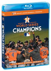 2017 Baseball World Series Houston Astros Los Angeles Dodgers Blu-ray Disc + DVD