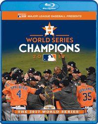 MLB Baseball 2017 World Series - Houston Astros (Blu-ray Disc + DVD)