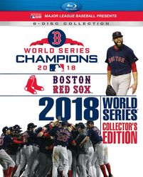 MLB Baseball 2018 World Series Boston Red Sox Collector's Edition 8 Blu-ray Disc Set
