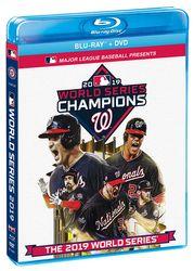 MLB Baseball 2019 World Series Washington Nationals Blu-ray + DVD