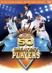 Major League Baseball New York Mets 50 Greatest Players DVD