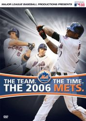 Major League Baseball The Team The Time The 2006 Mets DVD