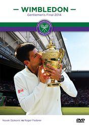 Wimbledon Tennis 2014 Finale Nova Djokovic vs Roger Federer 2-DVD-Set