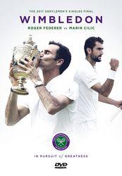 Wimbledon Tennis 2017 Finale Roger Federer vs Marin Clicic 2-DVD-Set
