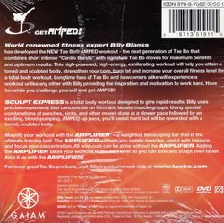 Billy Blanks Tae Bo AMPED Sculpt Express DVD