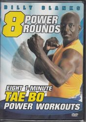 Billy Blanks Tae Bo 8 Power Rounds 1 Minute Workouts DVD