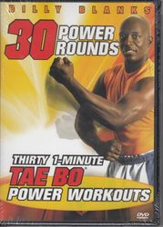 Billy Blanks Tae Bo 30 Power Rounds 1 Minute Workouts DVD